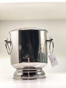 balde inox para gelo com  Alça