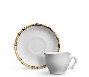 Xícara de chá bambu set c/ 6unidades