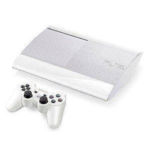 Console Playstation 3 Super Slim Novo Modelo 500gb Branco - Sony