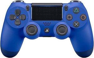Controle Dualshock 4 (Azul - Versão 2) - PS4