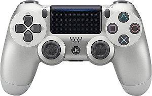 Controle Dualshock 4 Silver (Prata - Versão 2) - PS4