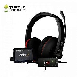 Fone de Ouvido / Headset Ear Force DP11 (Turtle Beach) - PS3 / PC / Mac