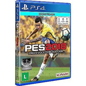 Game Pro Evolution Soccer 2018 - PS4