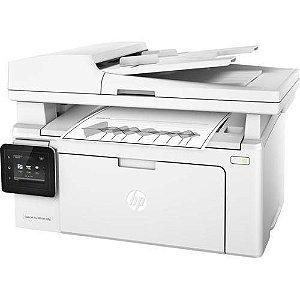 Impressora Multifuncional Hp Laserjet Pro Mfp M130fw Imprime Digitaliza Copia E Envie Fax Wi-Fi
