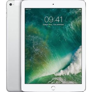 "iPad Air 32GB Wi-Fi 4G 9.7"" Prata - Apple"