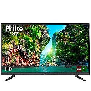 "TV LED 32"" Philco PTV32D12D HD com Conversor Digital 1 USB 2 HDMI 60Hz - Preta"