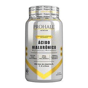 Prohall Nutrition - Suplemento Ácido Hialurônico 60 Cápsulas