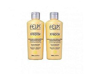 Felps Professional Xrepair Kit Duo Bio Molecular Reparação e Hidratação 2x250ml