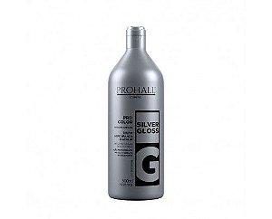 Prohall - Máscara Matizadora Silver Gloss Efeito Loiro Branco 500ML