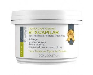 For Beauty - Btx Capilar Moroccan Argan Max Illumination For (500g)