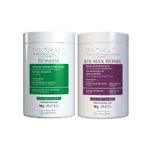 Prohall - Kit Máscara Biomask + Btx Max Repair  (2X1000g)