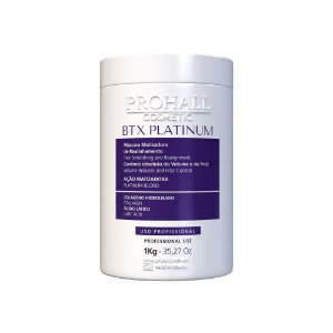 Prohall - Btx Platinum Capilar Revitalizador Anti-Yellow (1000g)
