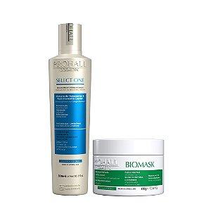 Prohall -  Realinhamento Capilar Select One + Máscara Biomask (2 itens)