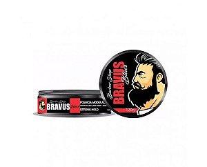 Bravus - Pomada Modeladora Barber Shop Black (120g)