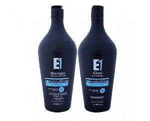 Ecoplus - Escova Progressiva Evolutione Óleo Inca E1 (2x1000ml)