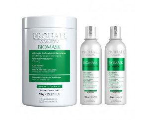 Prohall - Kit Ultra Hidratante Biomask Com Máscara de 1kg
