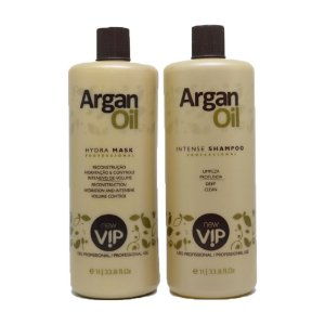New Vip - Escova Progressiva Definitiva Argan Oil 2x1000ml