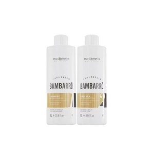 Madamelis - Kit Escova Progressiva Definitiva Bambarrô (2x1L)