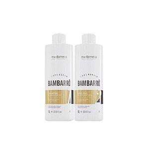 Madamelis - Kit Escova Progressiva Definitiva Bambarrô (2x1L)