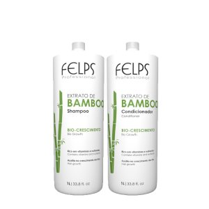 Felps - Kit Extrato De Bamboo Salon Duo (1 litro)