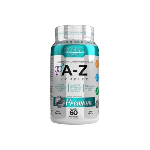 Prohall Nutrition - Suplemento Multivitamínico Premium A-Z Complex 60 Cápsulas