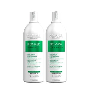 Prohall - Kit Shampoo + Condicionador Biomask Ultra Hidratante Brilho Intenso