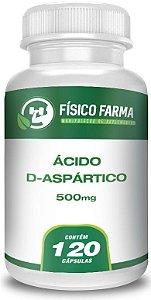 Ácido D-aspártico 500mg 120 Cápsulas