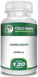 Agar Agar 500 mg 120 Cápsulas