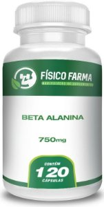 Beta-alanina 750mg 120 Cápsulas
