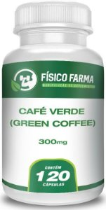 Café Verde (Green Coffee) 300mg 120 Cápsulas
