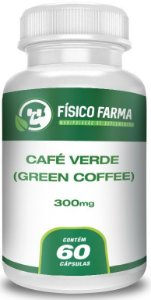 Café Verde (Green Coffee) 300mg 60 Cápsulas