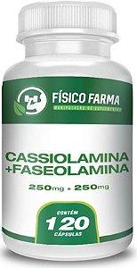 FASEOLAMINA 250mg + CASSIOLAMINA 250mg 120 Cápsulas