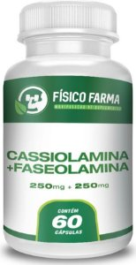 FASEOLAMINA 250mg + CASSIOLAMINA 250mg 60 Cápsulas