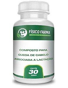 COMPOSTO PARA QUEDA DE CABELO ASSOCIADA A LACTAÇÃO 30 Doses