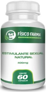 ESTIMULANTE SEXUAL NATURAL 60 Cápsulas