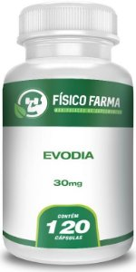 Evodia 30 mg - 120 Cápsulas