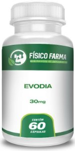 Evodia 30 mg - 60 Cápsulas