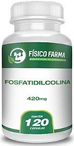 Fosfatidilcolina 420mg 120 Cápsulas