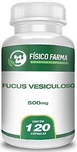 Fucus Vesiculoso 500 mg - 120 cápsulas