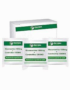 Glucosamina + Condroitina 60 Sachês Sabor Laranja