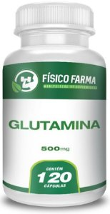 GLUTAMINA 500mg 120 Cápsulas
