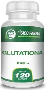 GLUTATIONA 250mg 120 Cápsulas