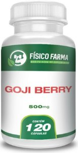 GOJI BERRY 500mg 120 Cápsulas