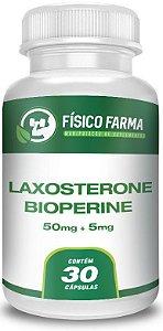 LAXOSTERONE 50mg + BIOPERINE 5mg 30 Cápsulas