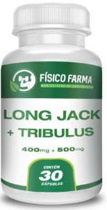 LONG JACK 400mg + TRIBULLUS TERRESTRIS 500mg 30 Doses