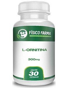 L-Ornitina 300Mg 30 Cápsulas
