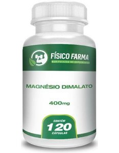 Magnésio Dimalato 400mg 120 Cápsulas
