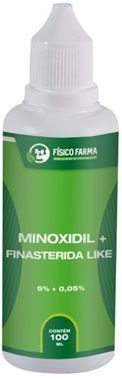 MINOXIDIL 5% + Finasterida Like ( Sfíngoni ) 100mL