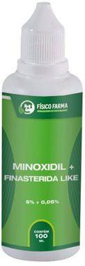 MINOXIDIL 5% + Finasterida Like ( Sfíngoni ) 100mL