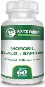 MOROSIL 200mg + ID-aLG 100mg + SAFFRIN 90mg 60 Cápsulas